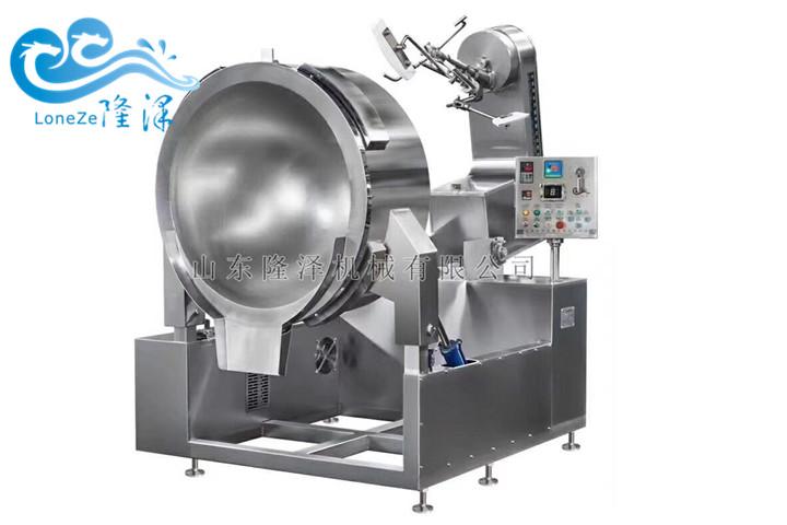 隆泽大型商用炒菜机