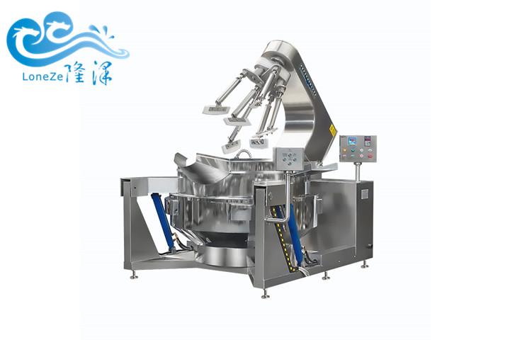 部队、医院、食堂、工厂用自动炒菜机器设备 智能电磁炒菜机器人 行星搅拌食